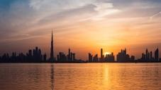 Дубай погледнат от Палмата