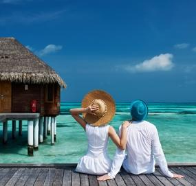 Меден месец на Малдивите
