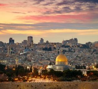 Нова Година в Йордания и Израел